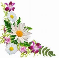 bordure en fleur pour les angles les fleurs les belles fleurs