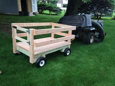 Wagon For Mower Do It Yourself Home Projects From