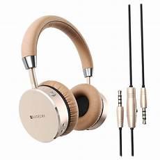 satechi aluminum wireless headphones gold