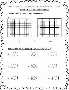 division worksheets 4th grade common 6676 go math practice 4th grade chapter 6 fraction equivalence and comparison