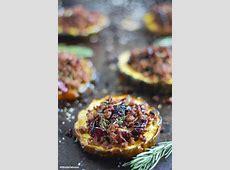 cranberry stuffed acorn squash_image