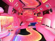 Inside A Pink Escalade The Limo I Want For My Quincea&241era
