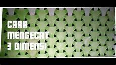 cara mengecat dinding motif 3 dimensi