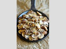 butter mushrooms recipe