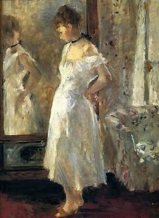 berthe marie pauline morisot 1841 1895 la psych 233 the cheval glass 1876 canvas 65