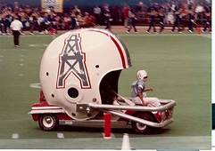 Houston Oilers Helmet Car With Images