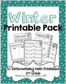 winter worksheets for second grade 19925 winter math printables differentiated for 2nd grade