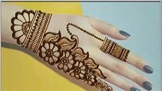 Cara Membuat Gambar Henna Di Tangan Yang Mudah Dan