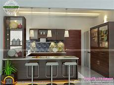 interior design for kitchen and dining modern and unique dining kitchen interior kerala home