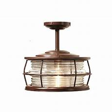 home decorators collection harbor 1 light copper outdoor hanging convertible flush