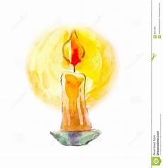 candela della candelora candela in acquerello immagine mystical divinazione il