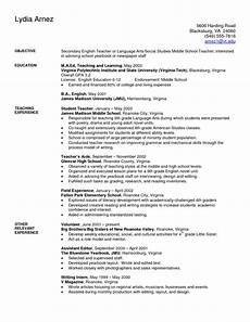 art teacher resume exles sle secondary teacher resume teaching resume teaching resume