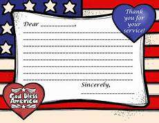 veterans day thank you card template thank a veteran and stripes thank you letter