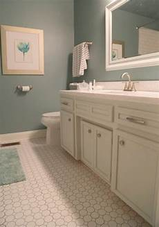 how to update a hall bathroom a budget color tips