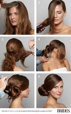 diy wedding hair side bun wedding hairstyle 101 how to diy a side bun 2167663