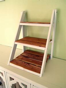 treppe als regal mini ladder shelf for serving organization reality