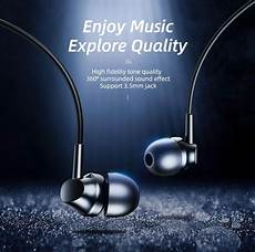 Rock Space Es01 Earphone Hifi by Rock Space Es01 Earphone With 3 5mm Audio Stereo Headset