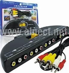 Harga Rca Selector jual stereo audio rca switch maituo 4 port ports