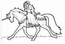 Malvorlagen Einhorn Mit Prinzessin Malvorlage Prinzessin Schamrock Auf Einhorn