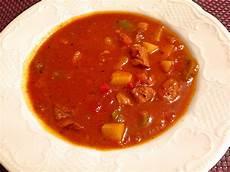 Rezept Für Gulaschsuppe - gulaschsuppe rezept mit bild dacota2006 chefkoch de