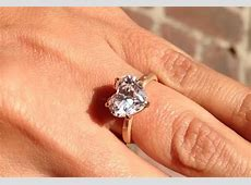 Celebrity heart shaped engagement rings   Ritani
