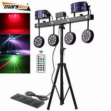 dj lighting equipment professional portable dj lights disco dj equipment 4pcs 12x1w rgbw 4in1 led par bar stage