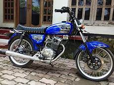 Cb Modif Simple by 70 Gambar Modifikasi Honda Cb100 Klasik Antik Otomotif