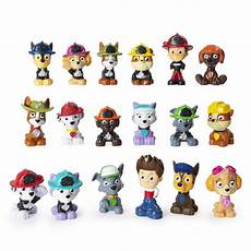 paw patrol mini rescue figures blind box of collectible