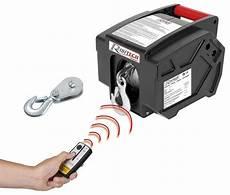 Treuil Electrique 5t Telecommande 12v 300w 4x4 Bateau Vl