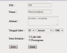 cara membuat form input data php blog nurri