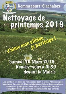 nettoyage de printemps 2019 site officiel de la mairie