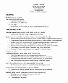 elementary teacher resume template 7 free word pdf