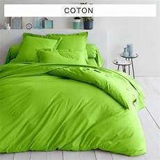 housse de couette vert anis housse de couette unie coton tertio 174 vert anis 3 suisses