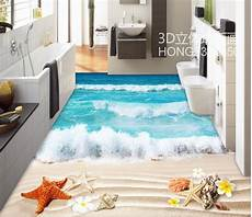Aliexpress Buy Floor Wallpaper 3d For Bathrooms