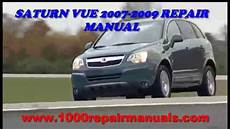 car owners manuals free downloads 2008 saturn sky instrument cluster saturn vue 2007 2008 2009 repair manual download youtube