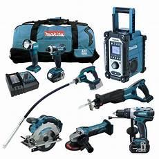 Makita Akku Werkzeug 18vaquascape by 12tlg Makita 18v Profi Akku Werkzeug Set Dvr350 Rfe