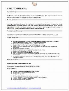 over 10000 cv and resume sles with free download download mba marketing resume sle