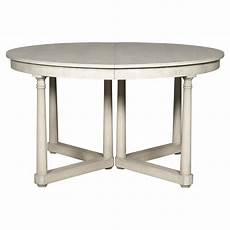 runde esstische ausziehbar vanguard callas rustic white extendable dining table