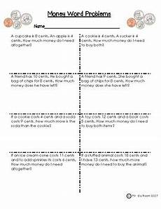money word problems worksheets 1st grade 11201 money word problems by teaching with mr g teachers pay teachers
