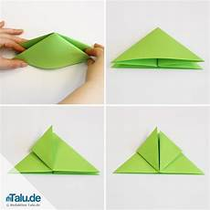 Falten Einfach - origami w 252 rfel falten einfache anleitung zum basteln