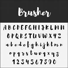 lettering vorlagen gut 10 kostenlose brush fonts zur
