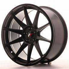 japan racing wheels jr 11 matt black 19x9 5 zol japan