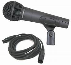 behringer xm8500 microphone behringer xm8500 pro audio wired cardioid mic microphone with 15 foot xlr cable package behr
