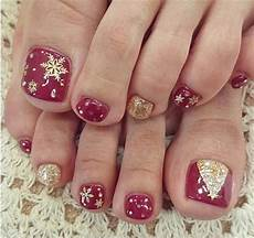20 best merry christmas toe nail art designs 2016