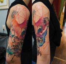 aquarelltattoos hautkunst tattoos skin watercolor