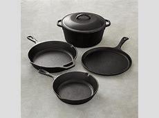 Lodge Cast Iron 5 Piece Cookware Set   Williams Sonoma