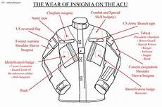 wearing diagram a basic intro to the army combat uniform