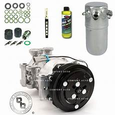 auto air conditioning repair 2012 chevrolet suburban 2500 regenerative braking new ac compressor kit fits 1996 1999 chevy k1500 suburban with rear a c ebay