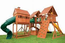 High Quality Timber Buildings Garden Sheds Play Houses And Garages wooden swing set with playhouse click on picture to see