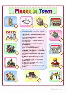 places in town writing worksheets 16040 writing your favourite place worksheet free esl printable worksheets made by teachers